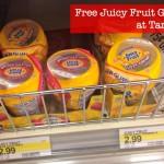 Free Juicy Fruit Gum at Target