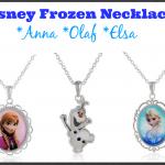 Fun Accessories: Disney Frozen Necklaces (Anna, Olaf, Elsa)