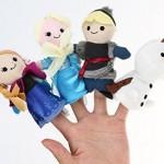 Fun with Disney Frozen Finger Puppets – Anna, Elsa, Kristoff, Olaf