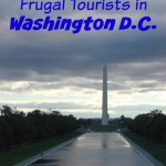 Tourists in Washington DC on a Frugal Budget