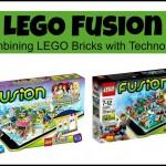 LEGO Fusion Sets Combine Bricks with Digital Technology