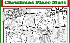 Entertain with this Adorable Printable Christmas Placemat