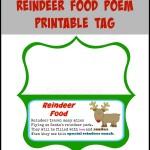 Reindeer Food Poem Printable – Use On Your Own Reindeer Food