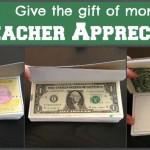 Teacher Appreciation/End of the Year Teacher Idea: A Book of Money