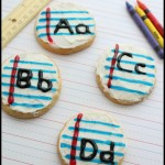 Cookies for Kids: Decorated Alphabet Sugar Cookies
