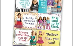American Girl Printable Lunch Notes – Inspiration for Kids