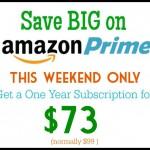 Rare Amazon Prime Discount