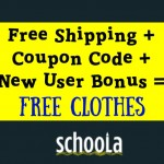Schoola Credit + Free Shipping at Schoola