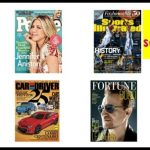 Amazon Daily Gold Box: $5 Magazines